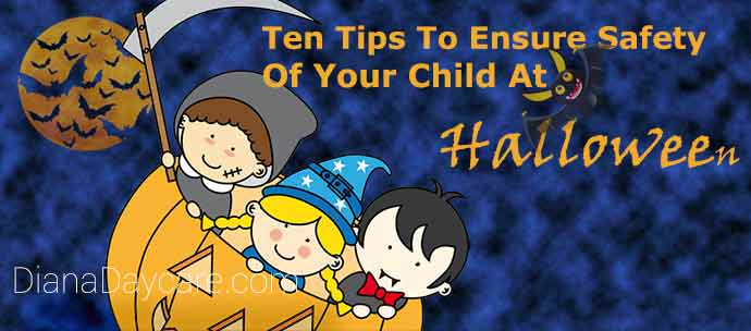 Ten Tips To Ensure Safety Of Your Child At Halloween Celebration
